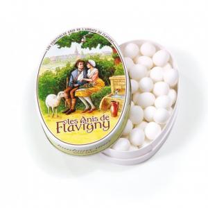 Les anis de Flavigny - Anis - Boite ovale - 50 g
