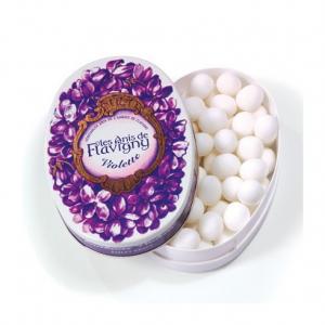 Les anis de Flavigny - Violette - Boiteovale - 50 g
