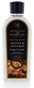 Recharge parfum de lampe - Ashleigh & Burwood - orange et cannelle - 500 ml