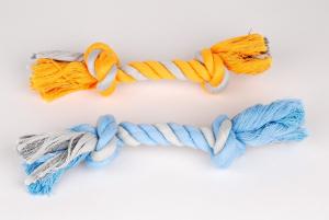 Corde 2 nœuds pour Petit Chien - Anka - 19 cm