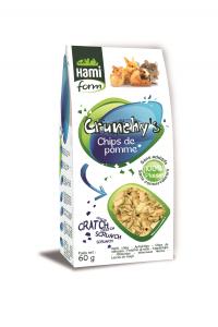 Chips de pommes - Crunchy's - Hami Form - 60 g