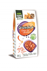 Chips de carotte - Crunchy's - Hami Form - 90 g