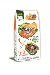 Mélange de légumes - Crunchy's - Hami Form - 100 g