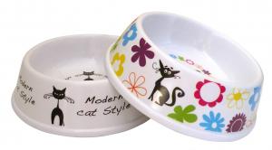 Gamelle mélaminée pour chats - Ø 10 cm - 200 ml