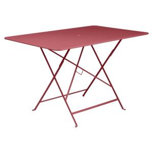 Table pliante Bistro - Fermob - 117 x 77 cm - Rouge Piment
