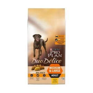 Croquette pour chiens Adult medium & large Duo délice Optibalance - Proplan - poulet - 10 kg