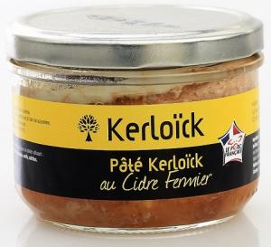 Pâté de chair au cidre fermier - Kerloïck - 190 gr