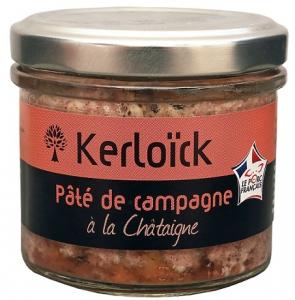 Pâté de campagne à la châtaigne - Kerloïck - 100 gr