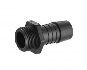 Raccord cannelé Noyon & Thiebault - Ø 24 mm - Polyamide - M20x27 - Pour tuyau PE Ø 25