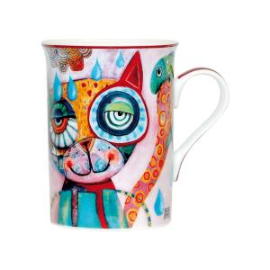 Mug Chat Allen - ENESCO - 10 x 7.5 cm