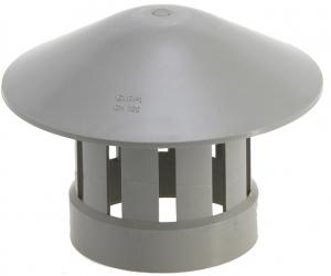 Chapeau de ventilation - Girpi - gris - 100 mm