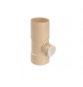 Collecteur d'eau de pluie - GIRPI - PVC - Ø 100 mm - Sortie Ø 50 mm - Sable