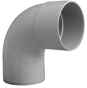 Coude simple mâle femelle - Girpi - 100 mm - 87°30