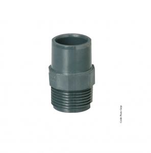 Embout fileté - GIRPI - PVC - Mâle-Femelle - Ø 40-50 mm - Filetage 1 1-2