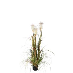 Herbe panachée artificielle - 120cm