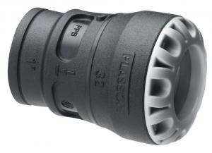 Raccord encliquetable - Femelle - Plasson Série 1 - Ø 32 mm - 26 x 34