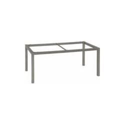 Pied de table - Stern - Alu - Gris - 160 x 90 x 72 cm