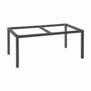 Pied de table - Stern - Alu - Anthracite - 160 x 90 x 72 cm