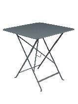 Table pliante Bistro - Gris orage - 71 x 71 cm