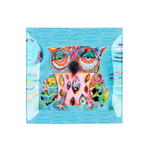 Coupelle Hibou Allen - ENESCO - 20 x 20 cm