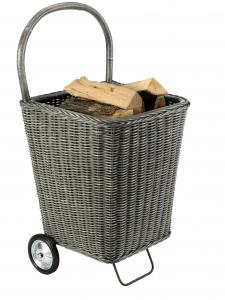 Chariot à bois - Nomad - Gris