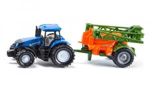 Tracteur New Holland + épandeur - Siku - 1/64
