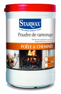 Poudre de ramonage pour cheminée - Starwax - Boîte de 1 Kg