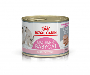 Boîte Mother & Babycat Mousse - Royal Canin - 195 g