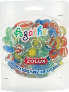Perles de verre plates Agathe Mixte - Zolux