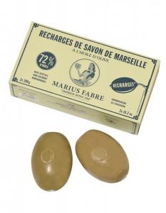 Recharges savon de Marseille & huile d'olive, rotatif - Marius Fabre