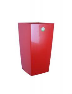 Bac à fleurs Nuance - Riviera System - Rouge - 29 x 29 x 52 cm