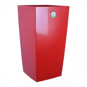 Bac à fleurs Nuance - Riviera System - Rouge - 38 x 38 x 69 cm