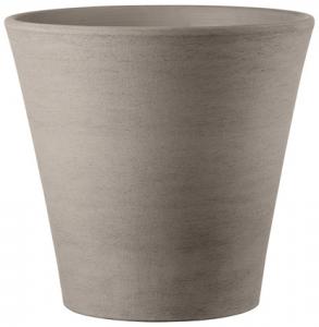 Vase Cono Primitivo - Deroma - grafite - hauteur 53,4 cm - Ø 60 cm
