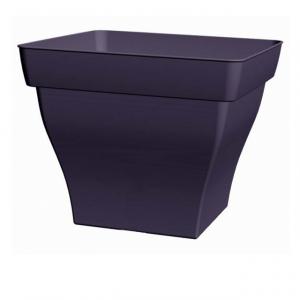 Bac carré Roméo - Poetic - noir -  32 cm