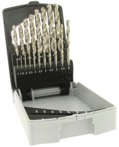 Coffret 19 forets à métaux - Tivoly - Ø 1 à 10 mm