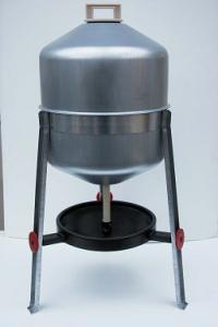Abreuvoir sur pieds - En acier galvanisé - 30 L