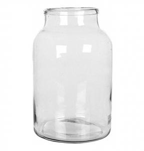 Bocal en verre transparent - Vienne - Ø 21 x h 35 cm