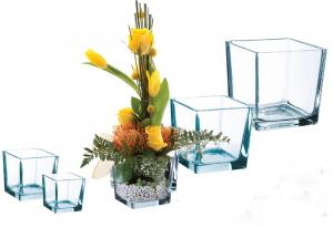 Vase carré - Horticash Fourn - 10x10x10 cm