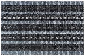 Tapis solido - Noir et gris - 40 x 60 cm