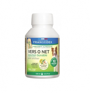 Vers O Net, solution buvable - Francodex - Pour chiens - Flacon de de 100ml
