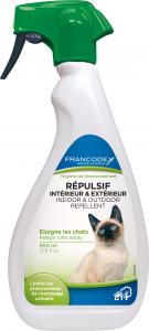 Spray répulsif intérieur & extérieur chats - Francodex - 650 ml