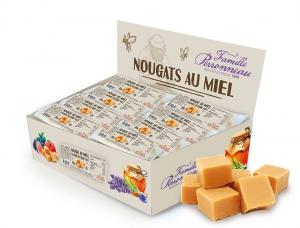 Nougat caramel au beurre salé au miel - Famille Perronneau - 30 gr