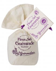 Fleur de Sel de Guérande Tradition - Le Guérandais - Sachet toile de 125 g