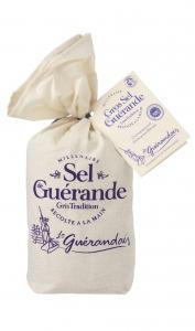 Gros Sel de Guérande Tradition - Le Guérandais - Sachet toile 750 g