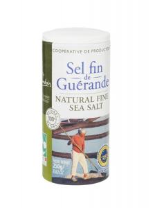 Sel Fin de Guérande Nature & Progrès - Le Guérandais - Boîte de 250 g