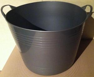 Panier souple - 40 L - Gris