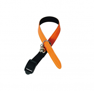 Collier Reflectite - Martin Sellier - 12 mm x 30 cm - Orange