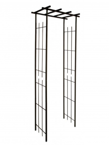 Pergola métallique - Fer Vieilli -97 x 40 x 198 cm