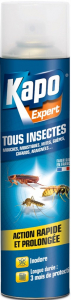 Aérosol contre tous les insectes - Kapo - 500 ml