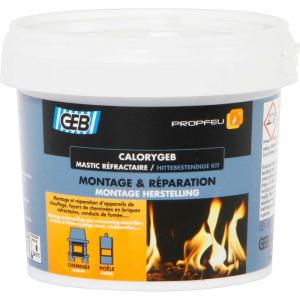 Mastic réfractaire CALORYGEB - GEB - 600 g - 1300 °C